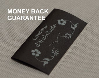 50 custom clothing tags