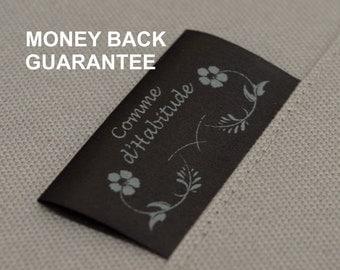 50 custom clothing tags