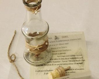 15 Message In A Bottle Wedding Invitation Beach Wedding