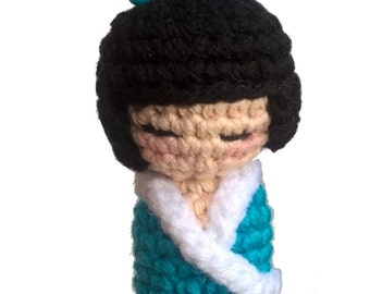 bookmark Kokeshi doll