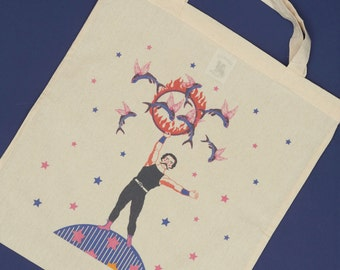 PROMO! Tote bag fish trainer