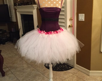 Pretty Lil Angel White Tutu Costume