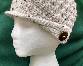 Peaked Brim Hat