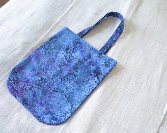 Tote bag in fabric of Sumatra, model Kembali