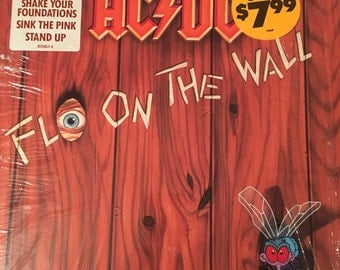 AC/DC - 1985 - Fly On The Wall Vinyl Record - Near Mint Condition