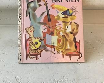The Musicians of Bremen ~ A Little Golden Book ~ 1954, 1st Edition (A) ~ 189.25