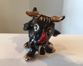 Mid Century Ceramic Bull/Cow