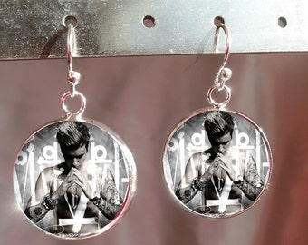 Justin Bieber Jewelry - Justin Bieber Earrings -  - Gift for Bielieber