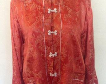 1950's Asian Pantsuit/Loungewear