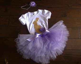 Easter bunny tutu outfit