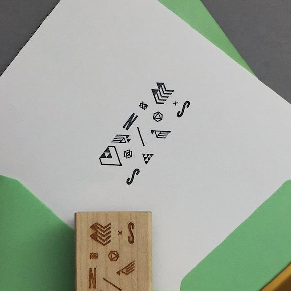 Modern Style - LOGO Stamp