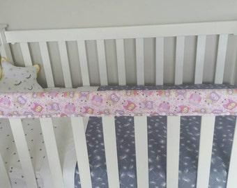 Items Similar To Peach Arrows Crib Bumper Or Crib Rail