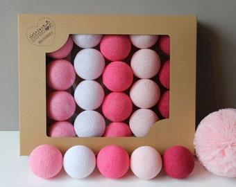 Cotton Balls Malinove 10 items