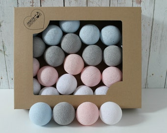 Cotton Balls Pastel Candy 10 items
