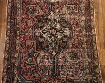 Grandma's vintage Kilim rug