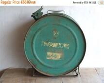 AUTUMN SALE 15% OFF Petrol Can // Vintage Gasoline Container // S.G.H.P. Schmid  B.P.