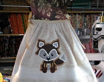 Autumn Fox Hanging Dress Towel