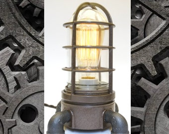 Industrial Explosion Proof Desk Lamp Steampunk Light #82
