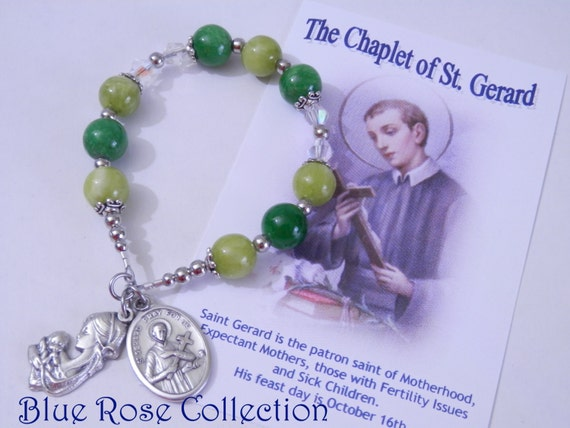 St Gerard Majela Chaplet Patron Saint For Fertility Issues