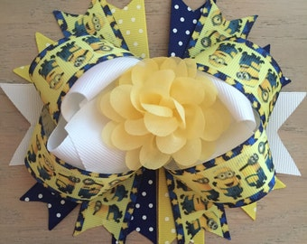 Minions hairbow
