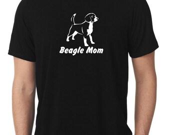 Beagle Mom T-Shirt beagles T13