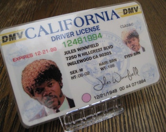 Pulp Fiction [ Jules Winnfield ] Driver License