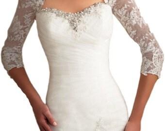 Bridal bolero/ jacket-  SALE