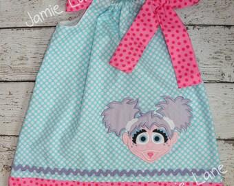 Abby Cadabby Pillowcase Style Dress