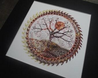 tree of life print,tree of life art,celtic art,tree of life,tree art print,tree print,tree art,autumn tree print,autumn tree art,spiritual