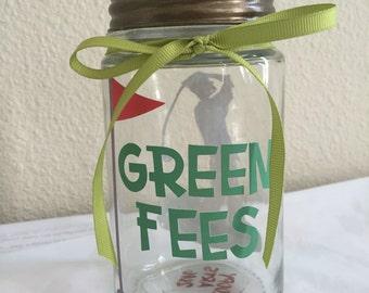Money Jar • Coin Bank • Piggy Bank ~ For the Golfer