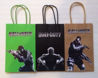Call Of Duty Favor Bags