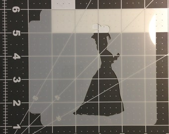 Lady Stencil 100