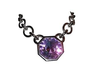 YSL Aurora Borealis Headlight Necklace