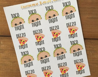 Taco & Pizza night