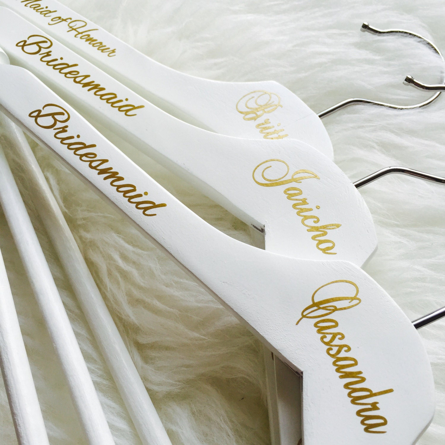 Bridesmaid Hangers Personalized Bridal Party Hanger Wedding