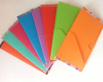 Folder shirt cardboard / Insert 6 pockets Regular Size for fauxdori, journal of the traveller