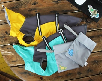 Light Waterproof Dog Raincoat - Dog Vest - Dog Clothing - Pet Clothes - Pet Clothes - Available to Any Breed