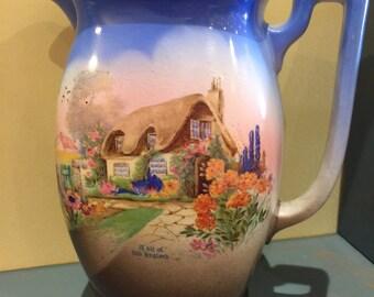 A vintage Silvo jug