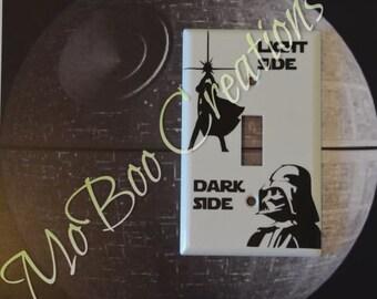 Light Side/Dark Side light switch cover