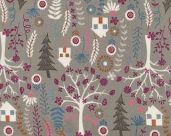 Forest House Folk - Timeless Treasures  100% cotton fabric - Sale 8.99 Yard