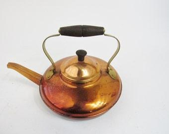 Copral Copper Tea Pot Made in Portugal