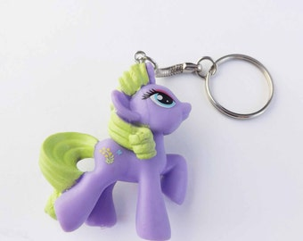 my little pony metal keychain Forsythia Flowerwishes Fizzy Pop Lucky Swirl Rainbow swirl  brony pegasister party favor gifts