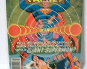1978 The Superman Family #187  Giant Superman, Flamebird and Nightwing G-VG Vintage DC Dollar Comic Book