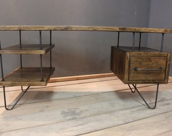 Desk, Modern Rustic Office Desk. (The Copford)