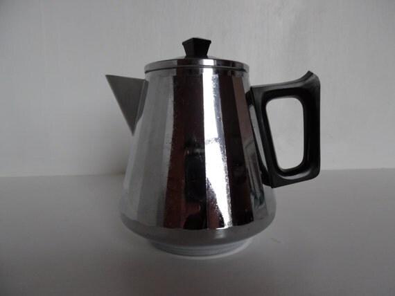 Swan Coffee Maker Replacement Jug : Art deco coffee pot / hot water jug 1950 s chromalin