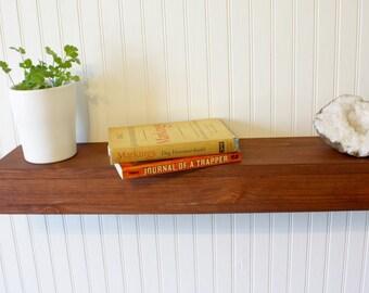 Floating Shelf - Rustic