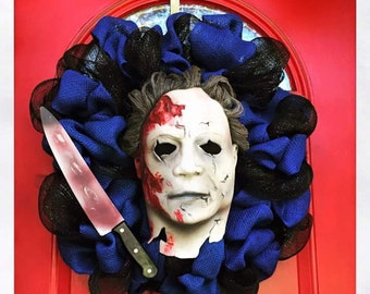 Horror Movie Wreaths