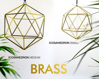 Handmade Himmeli Icosahedron