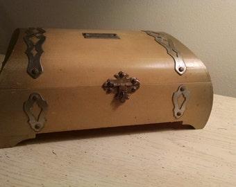 Vintage Nussbaum's Wooden Jewelry Box