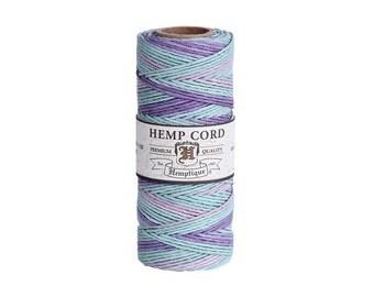 Pastel Variegated Hemp Cord Spool